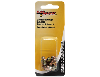 LX-4809 Lumax 8 Piece Metric Assortment