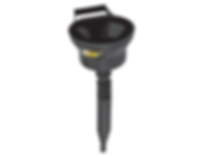 LX-1612 Lumax 1.5 Quart Plastic Flex Pour Funnel