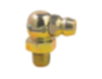 "LX-3019 Lumax 1/4""-28 90 Degree Taper Thread Lubrication Fittings"