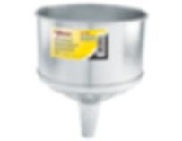 LX-1708 Lumax 8 Quart Galvanized Steel Funnel