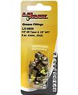 """LX-4805 Lumax 8 Piece Assortment 1/4""""-28 Taper and 1/8 NPT"""