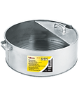 LX-1710 6 Gallon Galvanized Metal Drain Pan