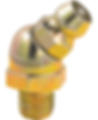 "LX-3013 Lumax 1/4""-28 45 Degree Taper Thread Lubrication Fittings"