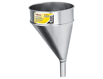 LX-1706 Lumax 6 Quart Galvanized Steel Funnel