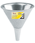 LX-1700 Lumax 1 Quart Galvanized Steel Funnel