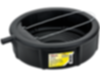 LX-1629 Lumax 5 gallon plastic drain pan with wire loop