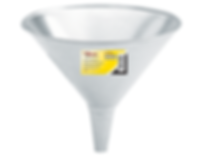 LX-1702 Lumax 2 Quart Galvanized Steel Funnel