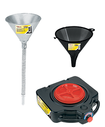 Lumax funnels and drains