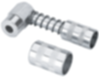 LX-1404 90 degree Grease Coupler