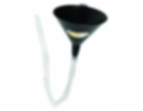 LX-1603 Lumax Plastic 16 ounce Transmission funnels