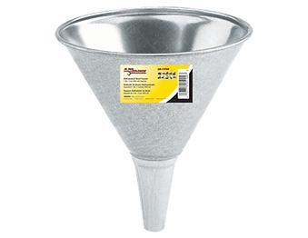 LX-1700 Lumax 1 Quart Galvanized Steel Funnel