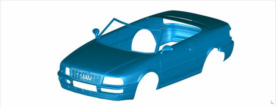 Modellbau Audi