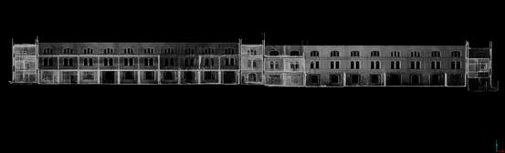 3D Laserscann Industriehalle