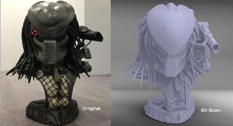 3D Scan Scalemodell für 3D Druck