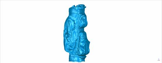 Scan eines Golfbags für Produktdesign