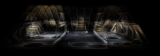 3D Scan Dachboden