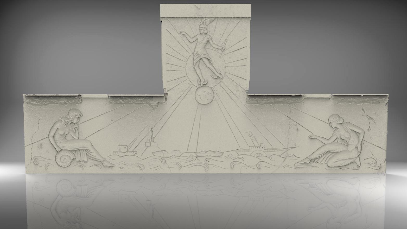 Reliefscan für Denkmalpflege