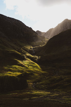 Lightrays In Glencoe
