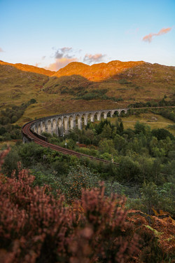 Glenfinnan Viaduct Golden Hour