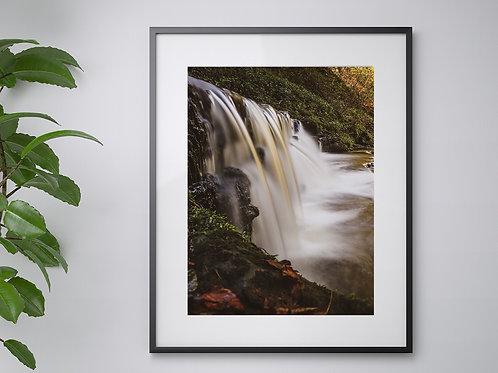 A3 Autumn Waterfall print