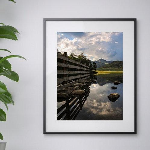 A3 Blea Tarn print