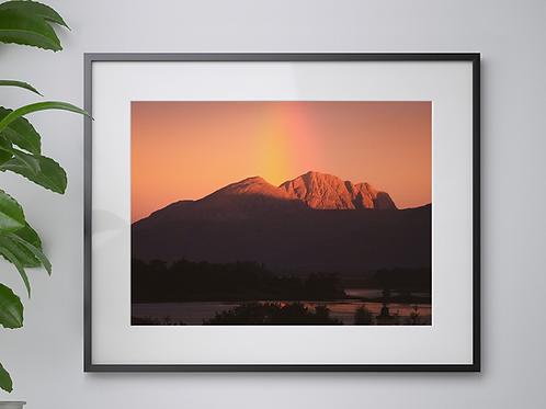 A3 Highland Sunrise print