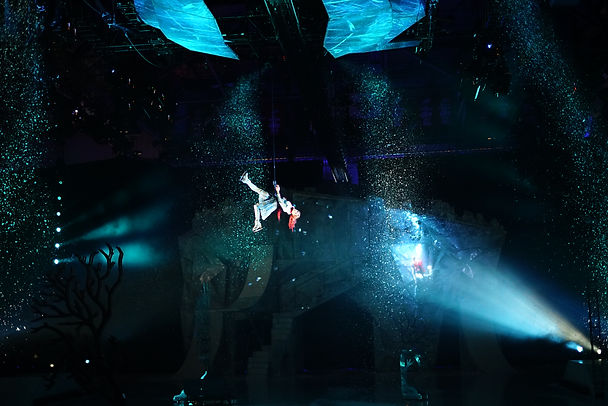 Aerialist, Ice Skater, Live Show, Photo