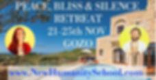 Peace, Bliss & Silence Retreat November Gozo