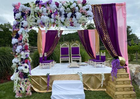 TaranaOM Creations Wedding Mandap