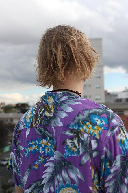 Camisa Havaí Roxa