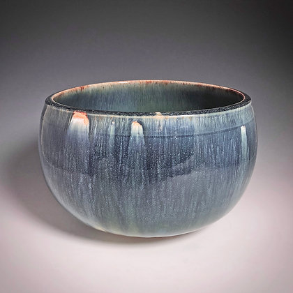 Deep Blue Bowl