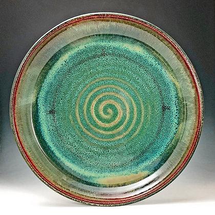 Blue Green Large Platter