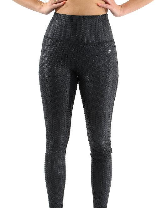 Genova Activewear Leggings - Black [MADE IN ITALY]