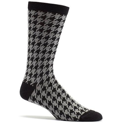 Houndstooth Mens Sock