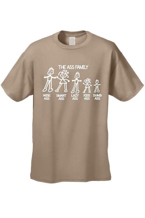 Men's/Unisex Funny Meet the Ass Family!  Short Sleeve T-Shirt