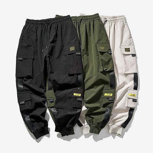 Multi-Pocket Harem Streetwear XS-5XL
