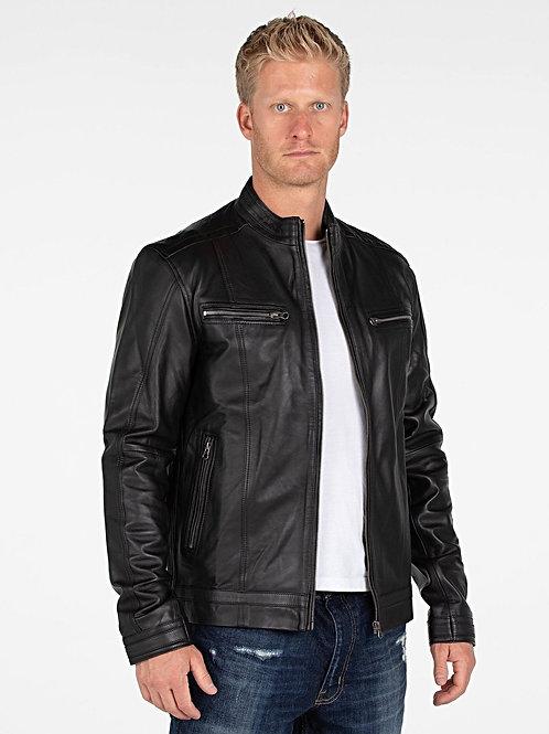 Wilson Men's Lambskin 100% Leather Jacket