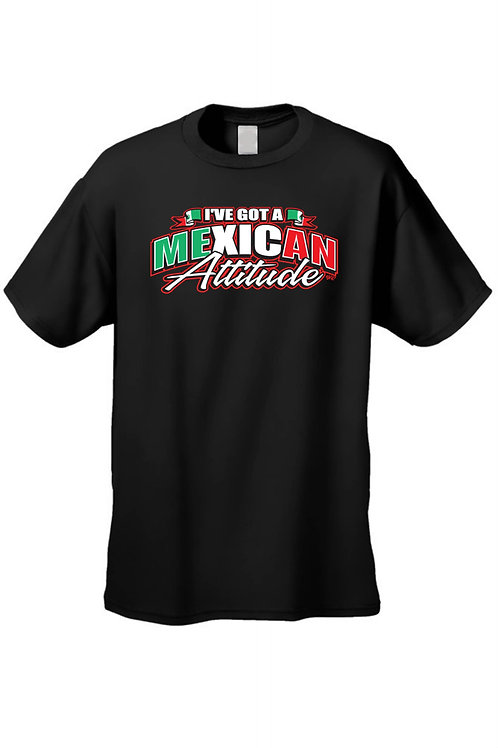 Men's/Unisex I've Got a Mexican Attitude Short Sleeve T-Shirt