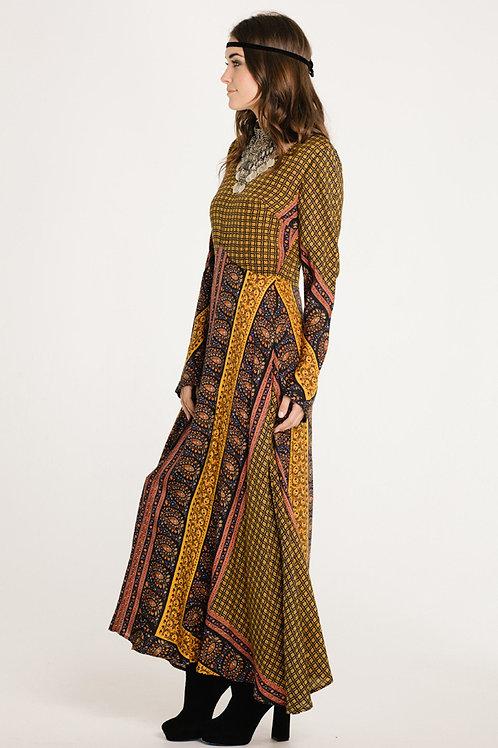 On the Horizon Long Sleeve Maxi Dress
