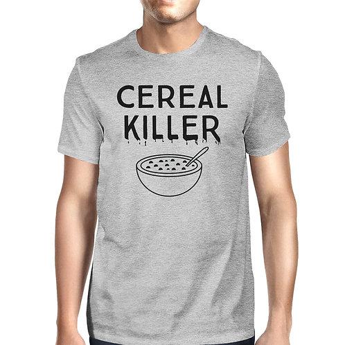 Cereal Killer Mens Grey Shirt