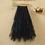 Thumbnail: Tulle Skirts Elastic High Waist