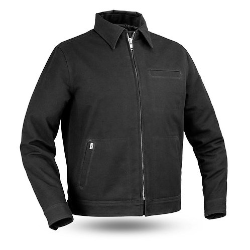 MKL - Hanover Men's Canvas Motorcycle Jacket