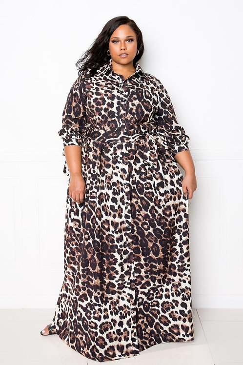 Love in the Wild Maxi Dress