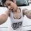 """Thumbnail: New """"Gorgeous"""" Ladies Racerback Tank"""