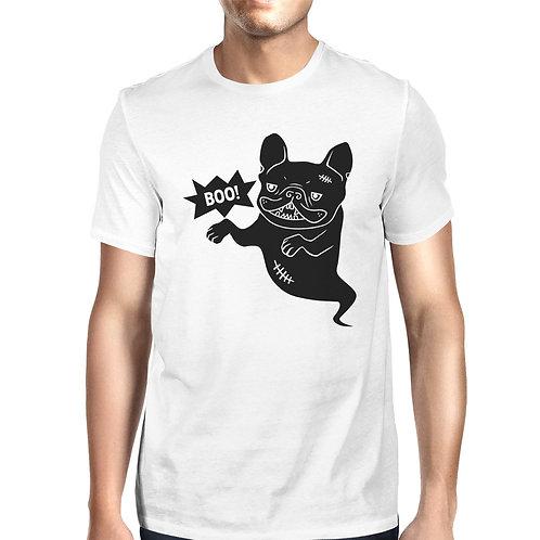 Boo French Bulldog Ghost White Shirt