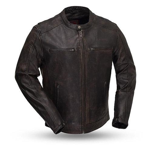 MKL - Hipster Men's Motorcycle Leather Jacket