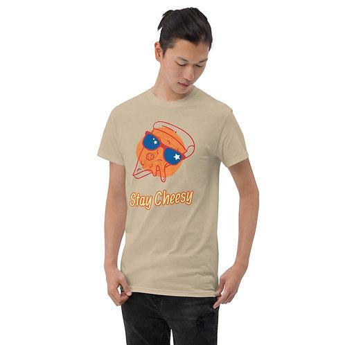 Stay Cheesy Pizza Short Sleeve T-Shirt