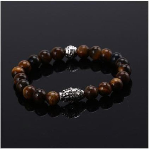 Sphere Buddha - Tiger Eye - fits 7''-7.5''
