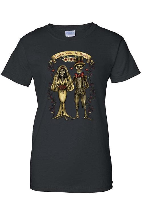 Women's Hasta Que La Muerte Nos Separe Juniors T-Shirt