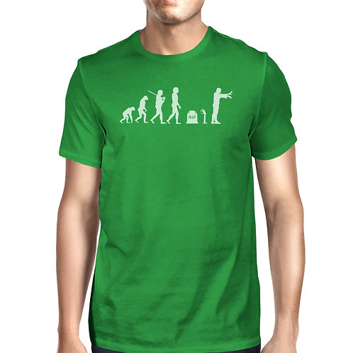 Zombie Evolution Green Shirt